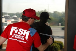 Fish Window Cleaning West St Louis County Mo Glencoe
