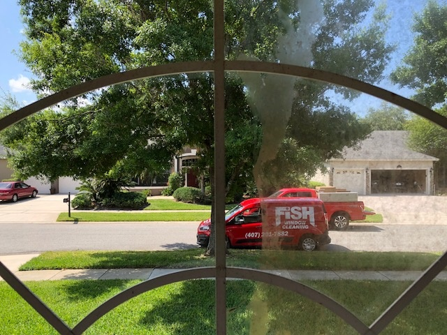 Window Cleaning Kissimmee St Cloud Fish Window