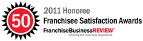 2011 Honoree Franchisee Satisfaction Awards