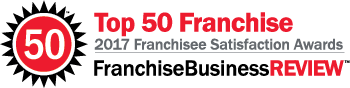 Top 50 Franchise - 2017 Franchisee Satisfaction Awards - FranchiseBusinessREVIEW