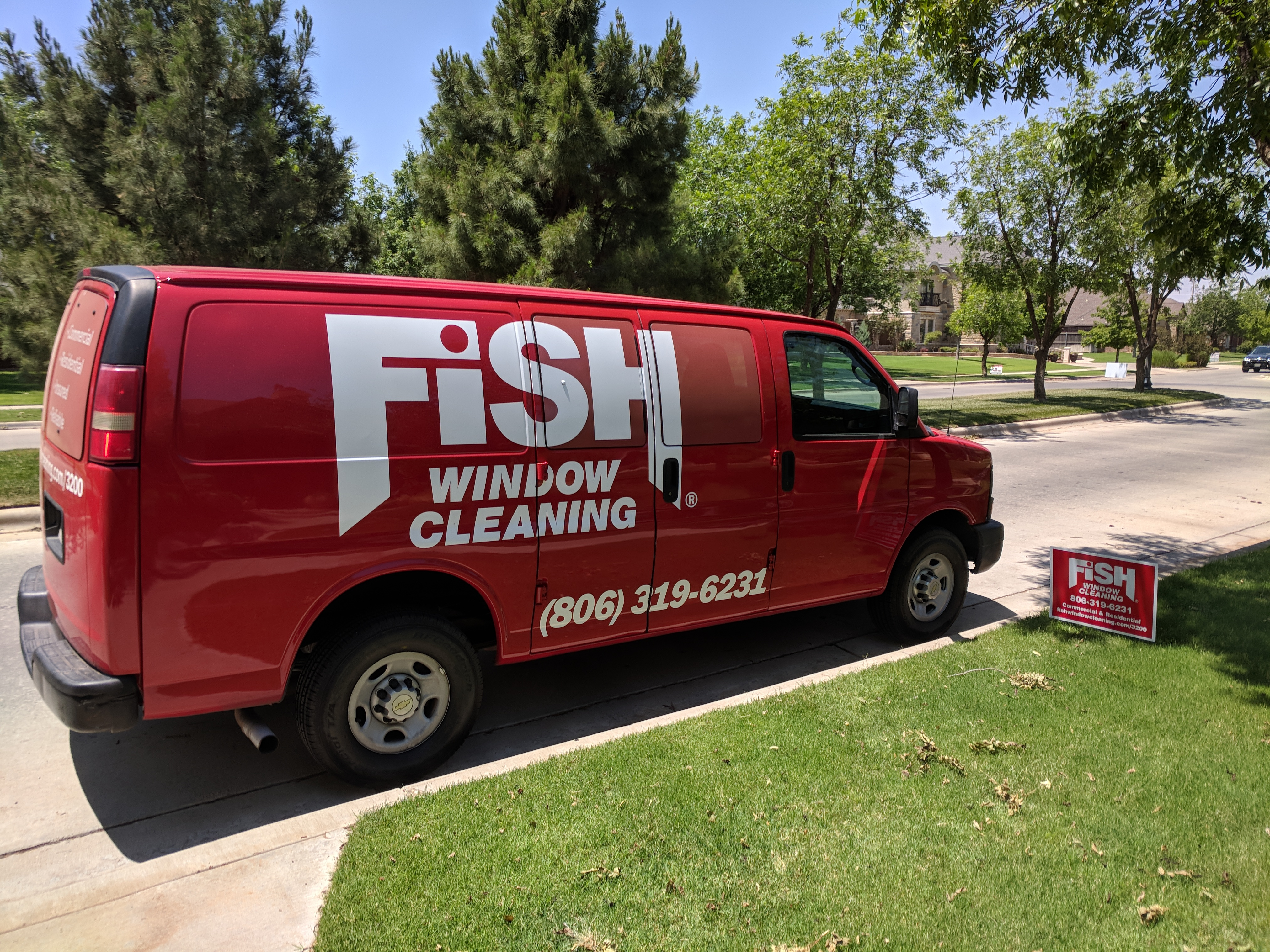 Fish Window Cleaning Lubbock Residential Window Cleaning