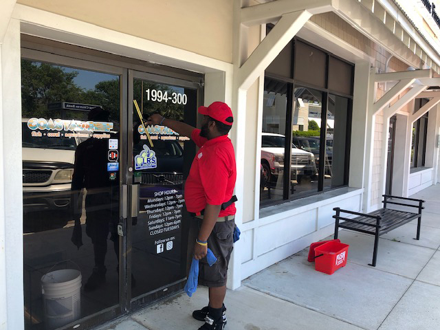 Fish Window Cleaning Wilmington NC