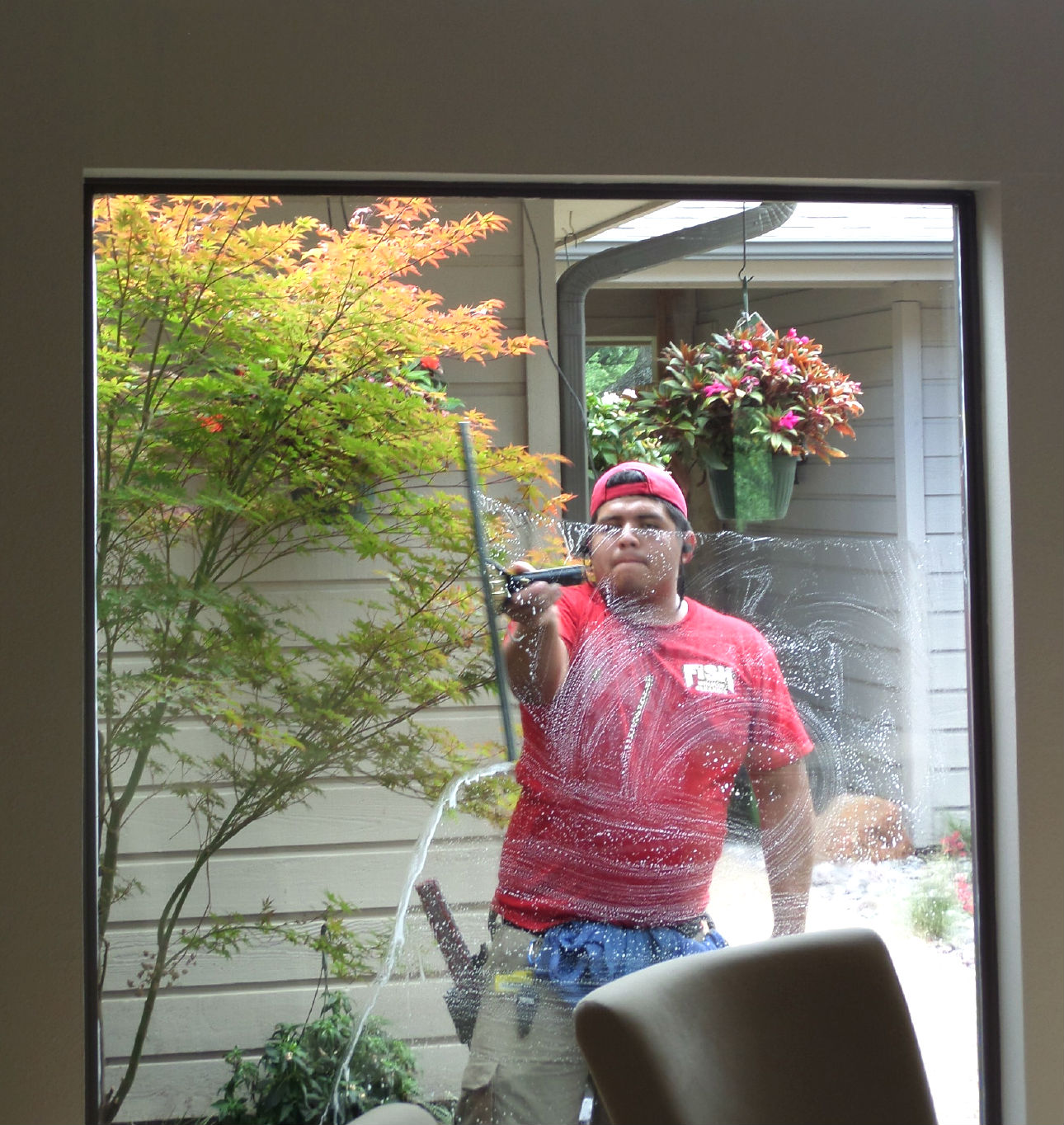 Fish Window Cleaning Dallas Residential Window Cleaning