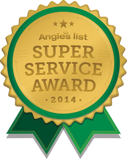 Angie's List Super Service Award 2014 for Window Cleaning