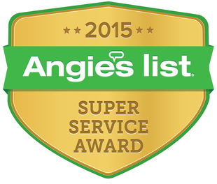 Angie's List Super Service Award 2015 for Window Cleaning
