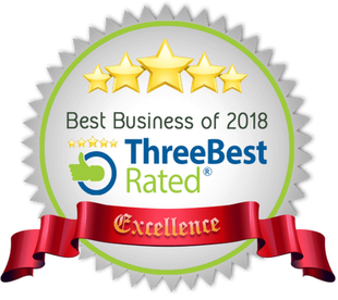 Best Business of 2018 From ThreeBestRated.com