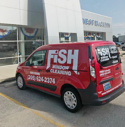 Fish Window Cleaning Birmingham Commercial Window Cleaning