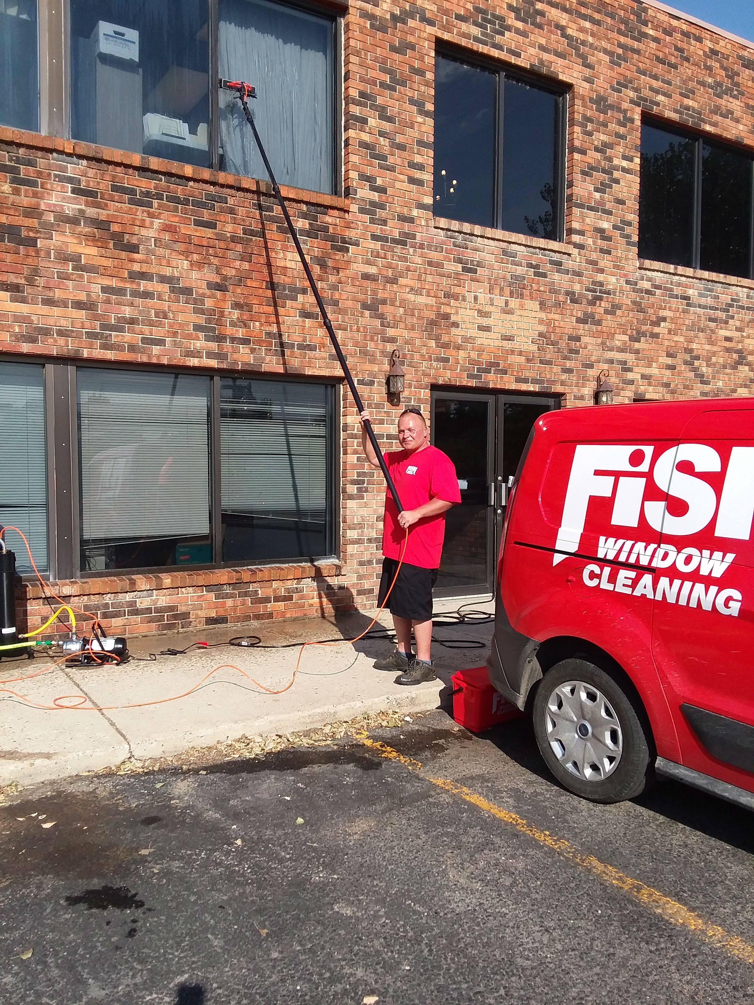 Fish Window Cleaning Casper Commercial Window Cleaning